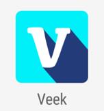 ícone aplicativo veek