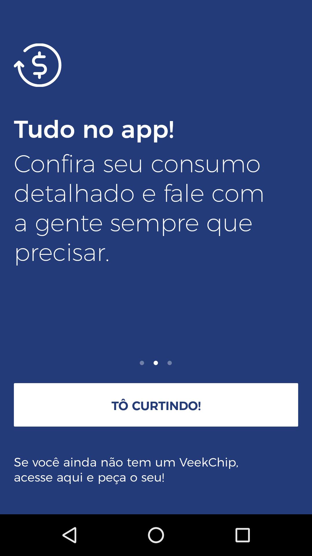 foto do app